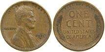 Us Coins - UNITED STATES, 1910-S Lincoln Cent, Choice VF.