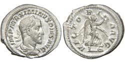 Ancient Coins - MAXIMINUS I 'THRAX', AD 235-238, AR Denarius, Victory. RIC 16. Near Mint.