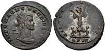 Ancient Coins - CLAUDIUS II, AD 268-270, AE Antoninianus, VICTORIAE GOTHIC, Cyzicus. RIC Unlisted.