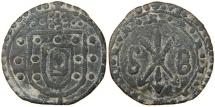 World Coins - PORTUGUESE MALACCA, Dom Sebastian I, 1557-1578, Tin (Half-?) Bastardo.
