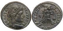 "Ancient Coins - CONSTANTINE I, ""The Great"", AD 307-337, AE3, SARMATIA DEVICTA, Lugdunum, RIC 214."