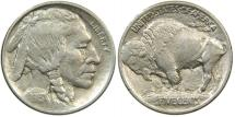 Us Coins - UNITED STATES, Buffalo Nickel, 1913 Type I, EF-AU.