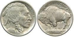 Us Coins - UNITED STATES, Buffalo Nickel, 1913 Type I, EF-AU.