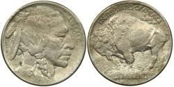 Us Coins - UNITED STATES, Buffalo Nickel, 1913 Type I, Toned AU.