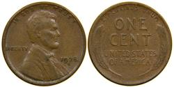 Us Coins - UNITED STATES, 1928-D Lincoln Cent, EF.