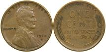 Us Coins - UNITED STATES, 1913-S Lincoln Cent, VF.