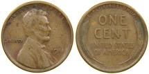Us Coins - UNITED STATES, 1911-S Lincoln Cent, Fine.