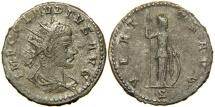 Ancient Coins - CLAUDIUS II GOTHICUS, AD 268-270, Billon Antoninianus, Antioch, Minerva.