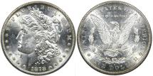 Us Coins - UNITED STATES, 1878-S Morgan Dollar, MS62 SPL