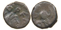 Ancient Coins - LEO I, AD 457-474, AE4, Lion, Constantinople. RIC 674.