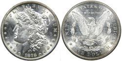 Us Coins - UNITED STATES, 1878-S Morgan Dollar, MS62 SPL