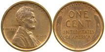 Us Coins - UNITED STATES, 1909 VDB Lincoln Cent, MS60.