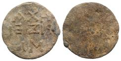 Ancient Coins - Byzantine Pb Seal, c. 4th century AD