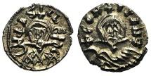 Basil I and Constantine (867-886). Debased AV Semissis