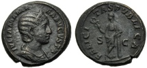 Ancient Coins - Julia Mamaea (Severus Alexander, 222-235), As, Rome, AD 222-235