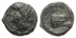 Ancient Coins - Sicily, Panormos, 2nd-1st century BC. Æ 10mm