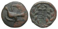 Ancient Coins - Sikyon, c. 330-270 BC. Æ Chalkous