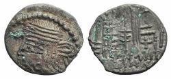 Ancient Coins - Kings of Parthia, Pakoros I ? (c. AD 78-120). AR Drachm Ex Simonetta Collection