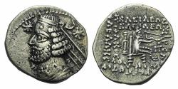 Ancient Coins - Kings of Parthia, Orodes II (c. 57-38 BC). AR Drachm Ex Simonetta Collection