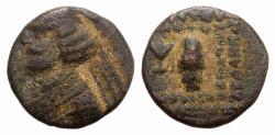 Ancient Coins - Kings of Parthia, Orodes II (58/7-38 BC). Æ Chalkous Ex Simonetta Collection