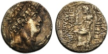 Ancient Coins - Seleucid kings of Syria, Philip I (95-75), Tetradrachm, Antioch , c. 88-87 BC