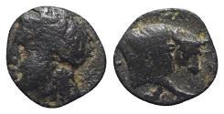 Ancient Coins - Ionia, Magnesia ad Maeandrum(?), c. 400-350 BC. Æ 8mm