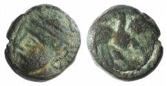 Ancient Coins - Kings of Parthia, Pakoros I (c. AD 78-120). Æ Chalkous Ex Simonetta Collection