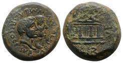 Ancient Coins - Sardinia, Caralis, c. 40 BC. Æ 31mm