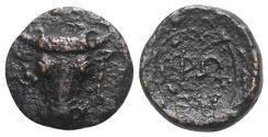 Ancient Coins - Phokis, Federal Coinage, c. 347-346 BC. Æ 12mm