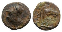 Ancient Coins - Anonymous, Rome, c. 260 BC. Æ 17mm