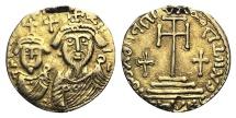 Arab-Sasanian, c. 7th century, Anonymous AV Solidus