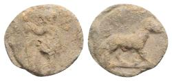 Ancient Coins - Roman PB Tessera, c. 1st century BC - 1st century AD