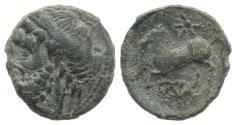 Ancient Coins - Northern Apulia, Arpi, c. 325-275 BC. Æ 16mm