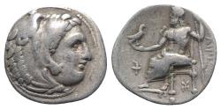 Ancient Coins - Kings of Macedon, Philip III Arrhidaios (323-317 BC). AR Drachm. Sardis, c. 323-319.