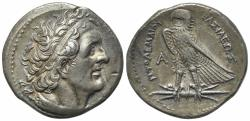 Ancient Coins - Ptolemaic Kings of Egypt, Ptolemy I-IV. AR Tetradrachm
