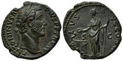 Ancient Coins - Antoninus Pius (138-161). Æ As