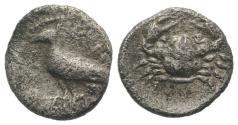 Ancient Coins - Sicily, Eryx, c. 480-470 BC. AR Litra