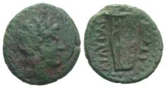 Ancient Coins - Sicily, Lilybaion, c. 2nd century BC. Æ 23mm