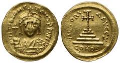 Ancient Coins - Tiberius II (578-582). GOLD Solidus. Constantinople.