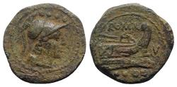 Ancient Coins - V series, South East Italy, 211-210. Æ Triens