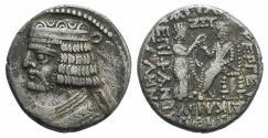 Ancient Coins - Kings of Parthia, Vardanes II (c. AD 55-58). BI Tetradrachm Ex Simonetta Collection