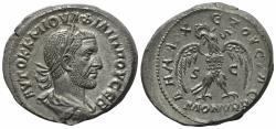 Ancient Coins - Philip I (244-249). Seleucis and Pieria, Antioch. BI Tetradrachm