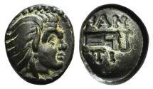 Ancient Coins - Cimmerian Bosporos, Pantikapaion, c. 310-304/3 BC. Æ 13mm