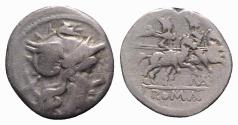 Ancient Coins - MA series, Uncertain mint, c. 199-170 BC. AR Denarius