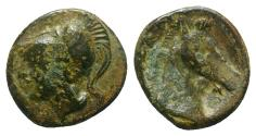 Ancient Coins - Anonymous, Rome, c. 260 BC. Æ 16mm