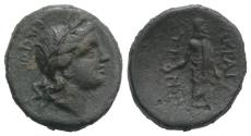 Ancient Coins - Sicily, Akragas, after 210 BC. Æ 22mm