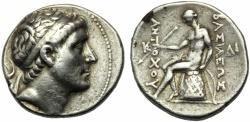 Ancient Coins - Seleucid kings of Syria, Antiochos II (261-246), Tetradrachm, Antioch, c. 261-246 BC