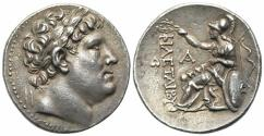 Ancient Coins - Kings of Pergamon, Eumenes I (263-241 BC). AR Tetradrachm
