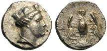 Ancient Coins - Ponto, Siglos, Amisos, V-IV cen. BC