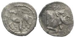Ancient Coins - Sicily, Gela, c. 465-450 BC. AR Litra